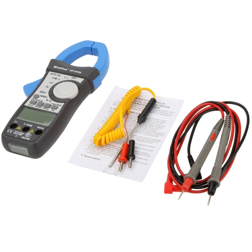 Buy HoldPeak HP-870N 1000A True RMS Auto Range Digital Clamp Meters Capacitor Temperature Meter 6000Counts Dual LCD Backlight