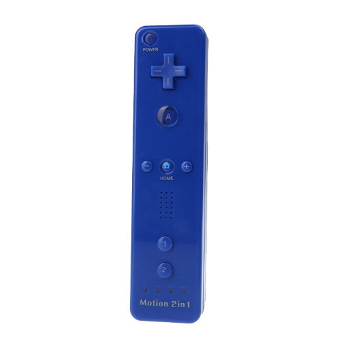 Wired Nunchuck and Remote Controller with Motion Plus for Nintendo Wii With Retail Package Dark Blue от Tomtop.com INT