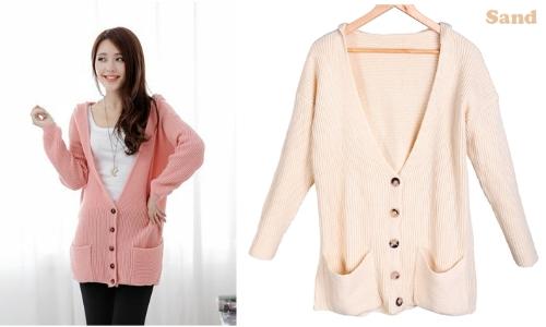 Women's Hoodie Cardigan Sweater Coat
