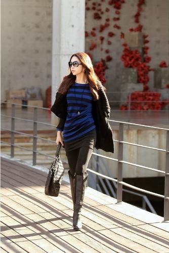 Buy Fashion Women Cardigan Shawl Collar Solid Long Shrug Sweater OL Loose Coat Knitwear Black