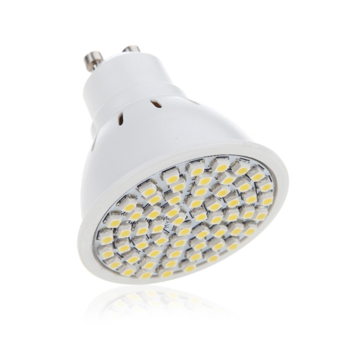 GU10 4W 60SMD 3528 1210 LED Light Bulb Lamp Spotlight Warm White 220V Energy Saving от Tomtop.com INT