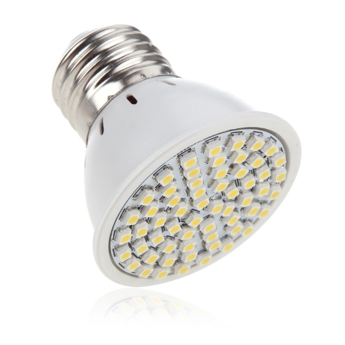 E27 4W 60SMD 3528 1210 LED Light Bulb Lamp Spotlight Warm White 220V Energy Saving