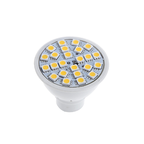 GU10 5W 24SMD 5050 LED Light Bulb Lamp Spotlight Warm White 220V Energy Saving от Tomtop.com INT