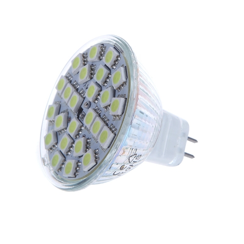 MR16 G5.6 5W 24SMD 5050 LED Light Bulb Lamp Spotlight White 220V Energy Saving от Tomtop.com INT