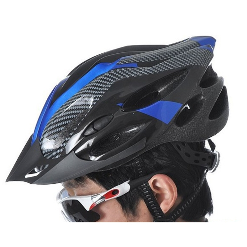 Sports Bike Bicycle Cycling Safety Helmet with Visor Carbon Fiber Adult от Tomtop.com INT