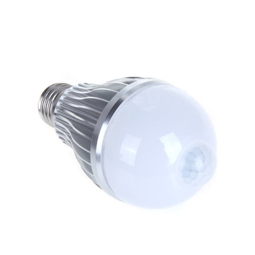 4W E27 LED Bulb Auto PIR Infrared Motion Sensor Detection Lamp White Light от Tomtop.com INT