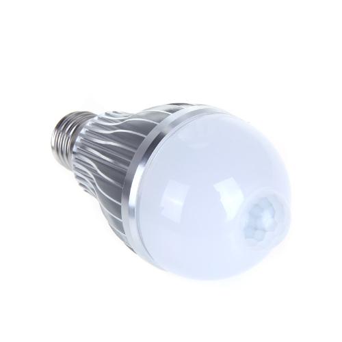 Buy 4W E27 LED Bulb Auto PIR Infrared Motion Sensor Detection Lamp White Light