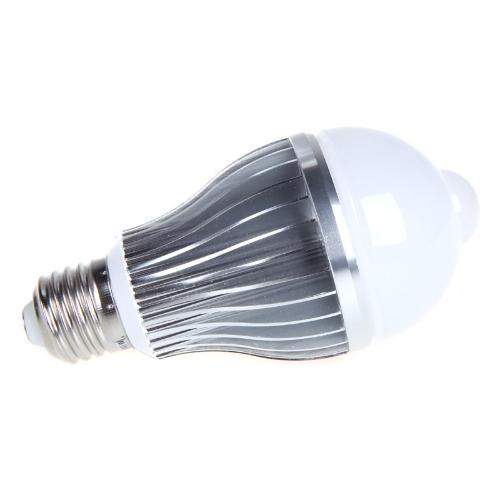 Buy 8W E27 LED Bulb Auto PIR Infrared Motion Sensor Detection Lamp White Light