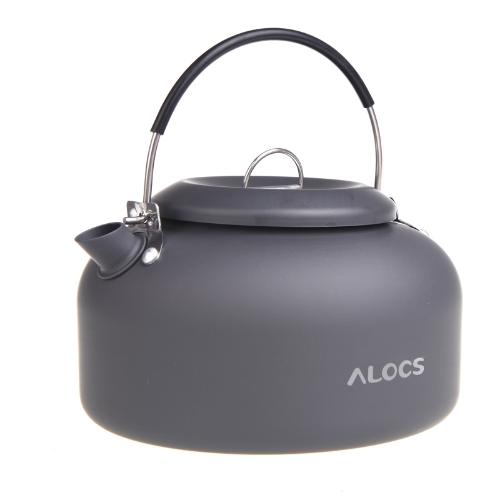 Alocs CW-K03 Outdoor Kettle Camping Picnic Water Teapot Coffee Pot 1.4L Aluminum