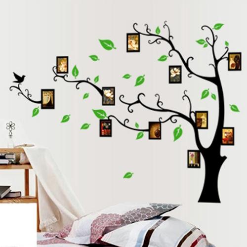 Photo Frames Tree DIY Removable Art Vinyl Wall Sticker Decor Mural Decal Part 73