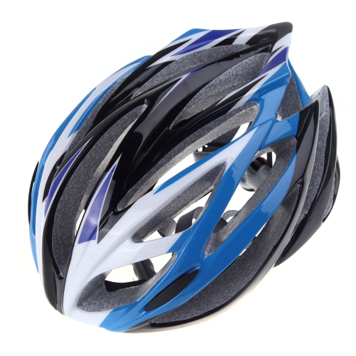 21 Vents Ultralight Sports Cycling Helmet with Lining Pad Mountain Bike Bicycle Adult Blue от Tomtop.com INT