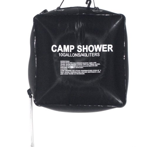 40L 10 galloni campeggio trekking solare riscaldata Camp doccia doccia esterna acqua borsa