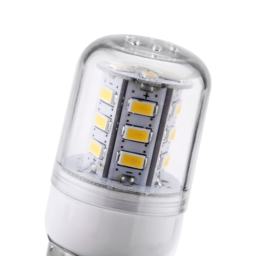 E27 4W 24 5730 LED SMD Corn Bulb Light Lamp Energy Saving 200-240V Warm White