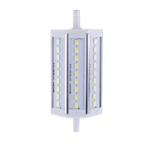 Buy R7S 8W 27 LEDs 5630 SMD Energy Saving Light Bulb Lamp 118mm White 100-240V Replace Halogen Floodlight