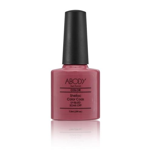 Abody 73ml Soak Off Nail Gel Polish Nail Art Professional Shellac Lacquer Manicure UV Lamp  LED 73 Colors 40511