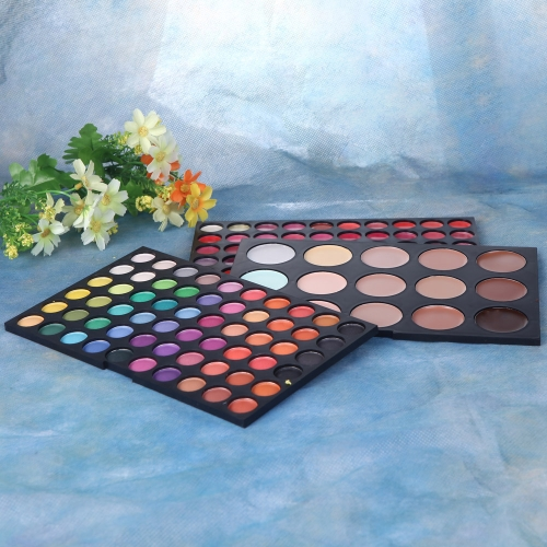 Buy Professional 135 Color 3 layer Makeup Palette 60 Eye Shadow Lipstick 15 Concealer Cosmetic Set