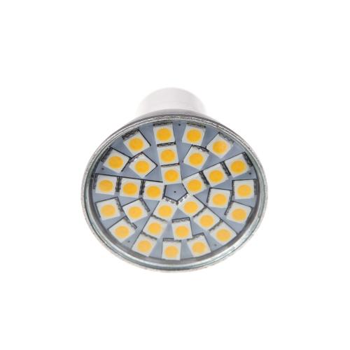 GU10 4W 48 LED 3528 SMD Lamp Cup White Spotlight Light(85-265V) tmart