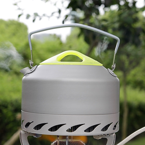 ALOCS CW-K07 Portable Aluminum Oxide Outdoor Camping Pot Teapot Kettle 0.9L