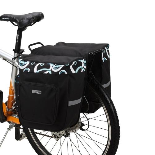 Buy ROSWHEEL 30L Cycling Bicycle Bag Bike Double Side Rear Rack Tail Seat Pannier