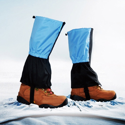 Outdoor Waterproof Windproof Gaiters Leg Protection Guard Skiing Hiking Climbing