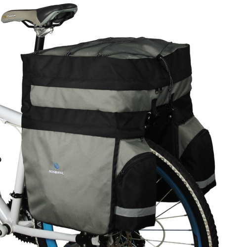 Buy ROSWHEEL 60L Cycling Bicycle Bag Bike Double Side Rear Rack Tail Seat Trunk Pannier