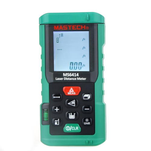 Buy Original MASTECH MS6414 40M Handheld Laser Distance Meter/Range Finder Area Volume Tester