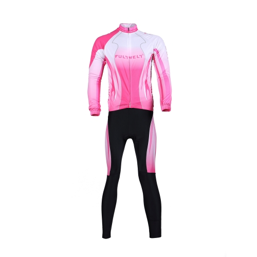 Buy Cycling Clothing Set Sportswear Bicycle Bike Outdoor Long sleeve Jersey + Pants Breathable Women