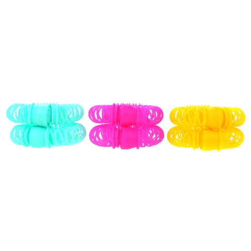 6pcs Lucky Donuts Curly Hair Curls Roller Hair Styling Tools Hair Accessories Magic Spiral Ringlets Circles