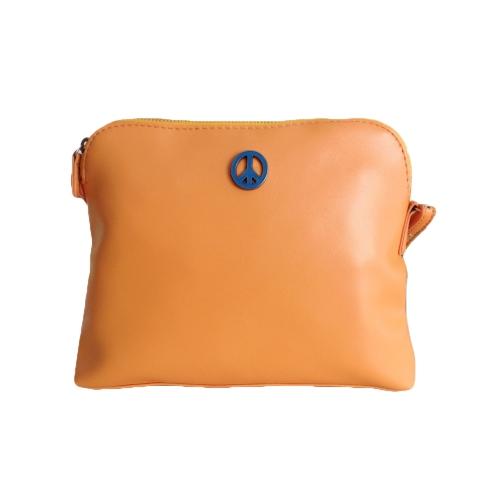 Buy Korean Lady Women Cute Bags PU Leather Candy Color Messenger Crossbody Shoulder Orange