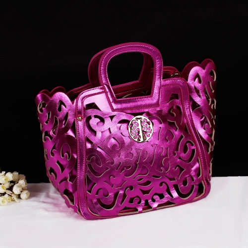Buy Fashion Women Handbag Hollow Elegant Tote Messenger Shoulder Bag Crossbody Rose