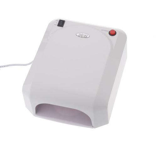 Buy 36W 220V White Gel Curing Nail Art UV Lamp 9W Bulb Light Dryer EU Plug