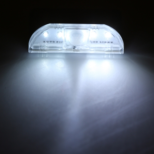 4 LED Auto PIR Keyhole Motion Sensor Detector Light Lamp от Tomtop.com INT