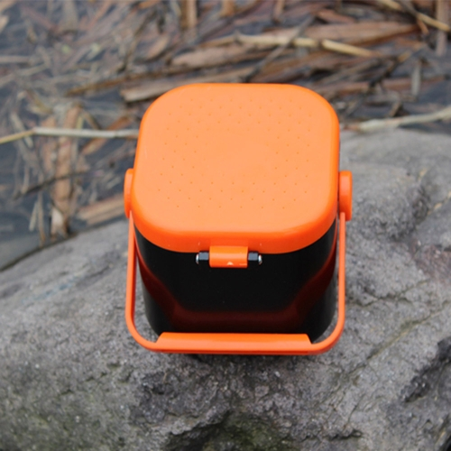 10*10*7.5cm Double Layer Earthworm Worm Bait Lure Fishing Tackle Box Plastic 5 Compartments with Clip от Tomtop.com INT
