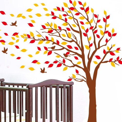 Buy Big Tree Double-sided Wall Stickers Art Decals Mural DIY Wallpaper Room Decal 60 * 90cm