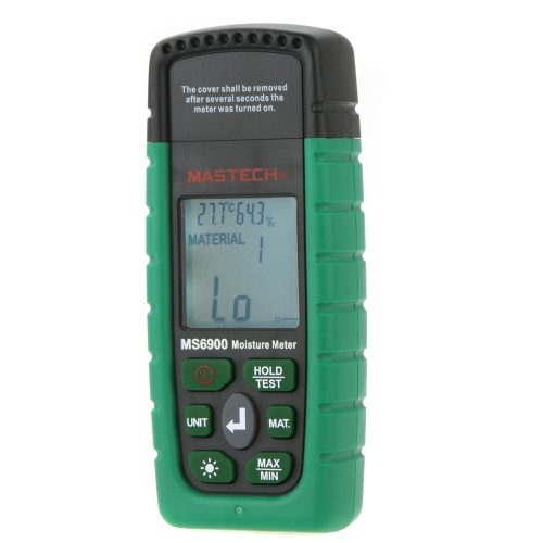 Buy Mastech MS6900 Professional Mini Digital Moisture Meter Wood/ Lumber/Concrete Buildings Humidity Tester LCD Display