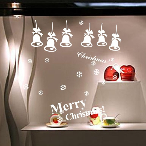 Buy Christmas Bells Removable Wall Stickers Art Decals Mural DIY Wallpaper Room Decal 60 * 60cm