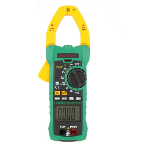 Buy MASTECH MS2015A 6000 Counts 1000A AC Clamp Meters Capacitance Frequency & NCV Tester True RMS