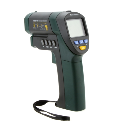 Buy MASTECH MS6540B Non-contact Infrared Thermometer IR Temperature Tester Sensor Laser Point D:S 30:1