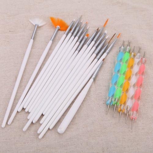 Buy 2Nail Art Design Painting Dotting Detailing Pen Brushes Bundle Tool Kit Set Case