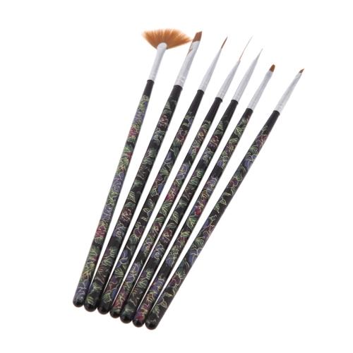 Buy Nail Art Tips Design Polish Painting Dotting Pen Tools Brush Makeup Set Kit