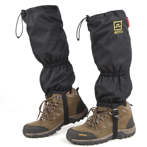 Outdoor Waterproof Windproof Gaiters Leg Protection Guard Skiing Hiking Climbing Moutaineering