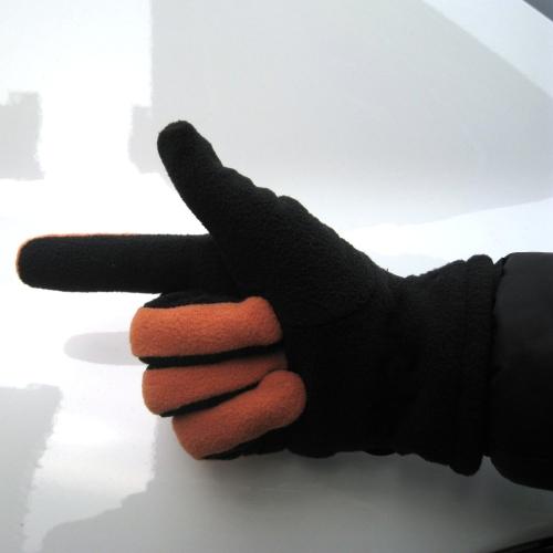 Adjustable Gloves Women Full Finger Fleece Outdoor Windproof Thermal Winter Ski Cycling Skiing Hiking