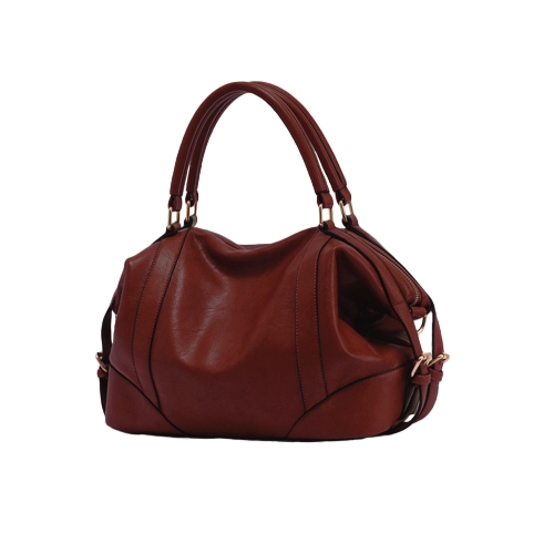 Buy Fashion Women Handbag European Style PU Leather Large Capacity Messenger Bag Black/Brown/Burgundy