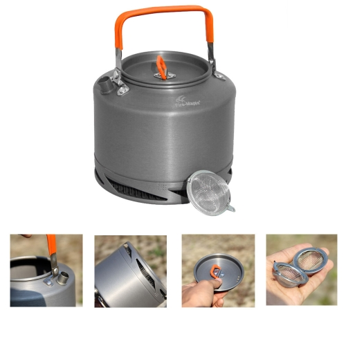 Buy Portable Anodized Aluminum 1.5L Fire Maple FMC-XT2 Heat Collecting Exchanger Kettle Tea Coffee Pot Outdoor Camping Picnic Cookware Drawstring Mesh Bag