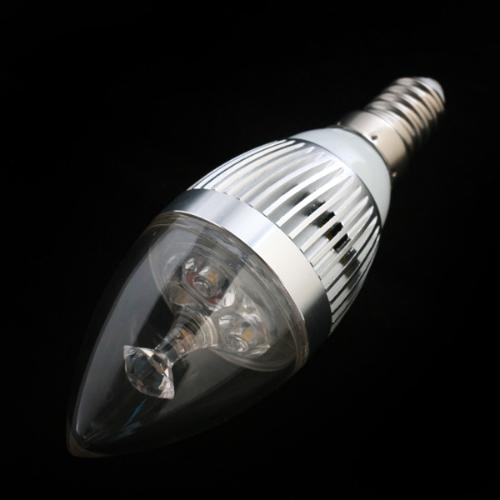 LED light bulb E14 85-265V Warm White