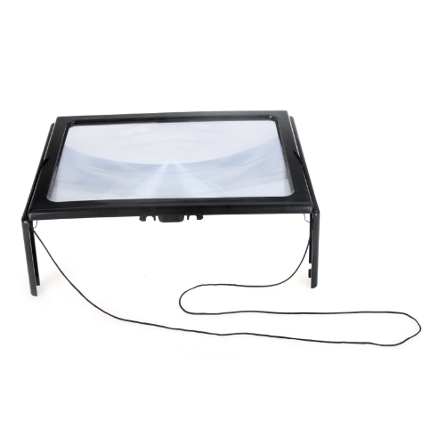 Buy Ultrathin A4 Full Page Large Pvc Magnifier 3x Foldable