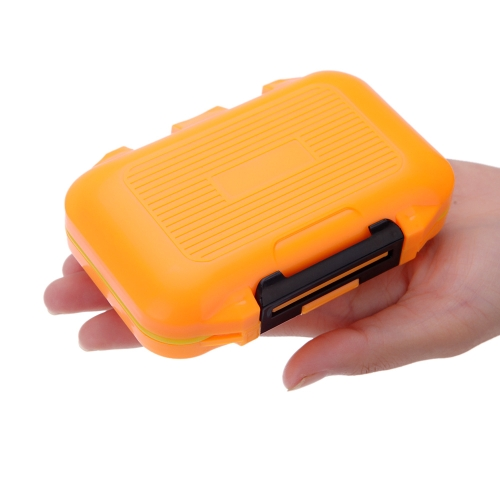 12 Compartments Waterproof Storage Case Fly Fishing Lure Spoon Hook Bait Tackle Box Orange от Tomtop.com INT