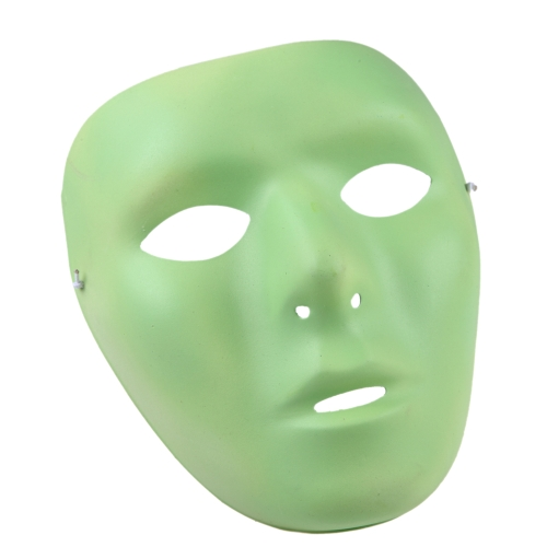 Buy Glow-in-the-Dark Noctilucent Face Mask Halloween Masquerade Cosplay Carnival Costume Party