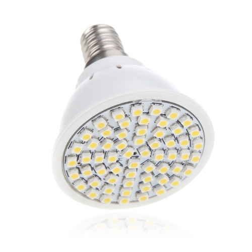 E14 4W 60SMD 3528 1210 LED Light Bulb Lamp Spotlight Warm White 220V Energy Saving