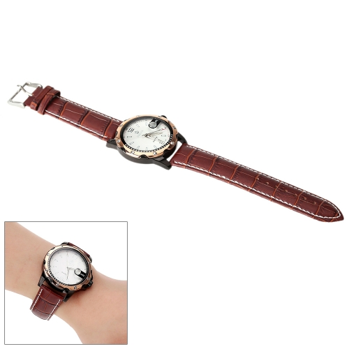 MG·ORKINA Unisex Luxury Wristwatch Water-resistant Analog Quartz Calendar Date Watch Leisure Style от Tomtop.com INT
